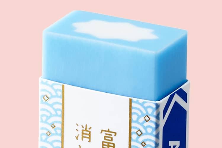 Mount Fuji Eraser by PLUS Stationery