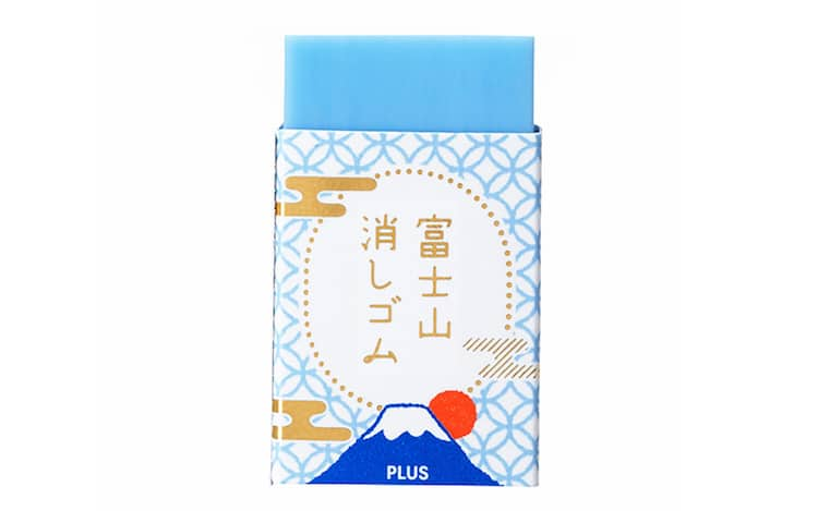 Mount Fuji Eraser by PLUS Stationery