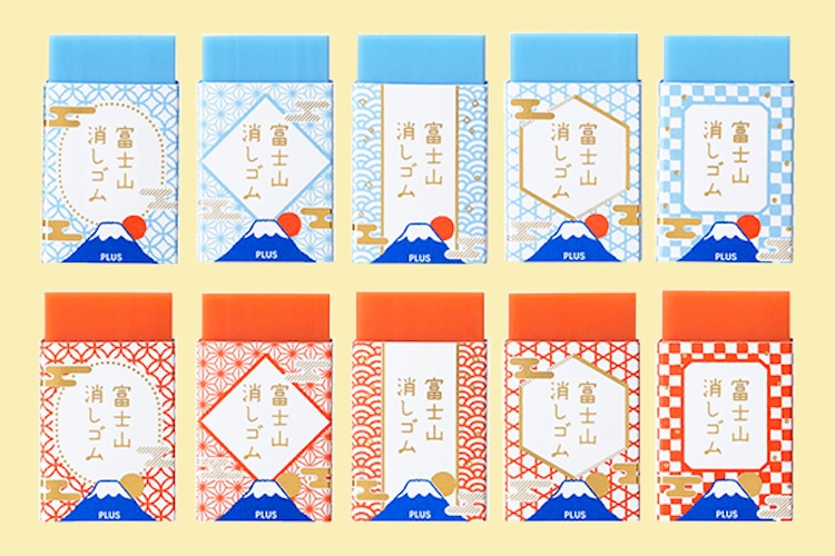 goma monte fuji PLUS Stationery