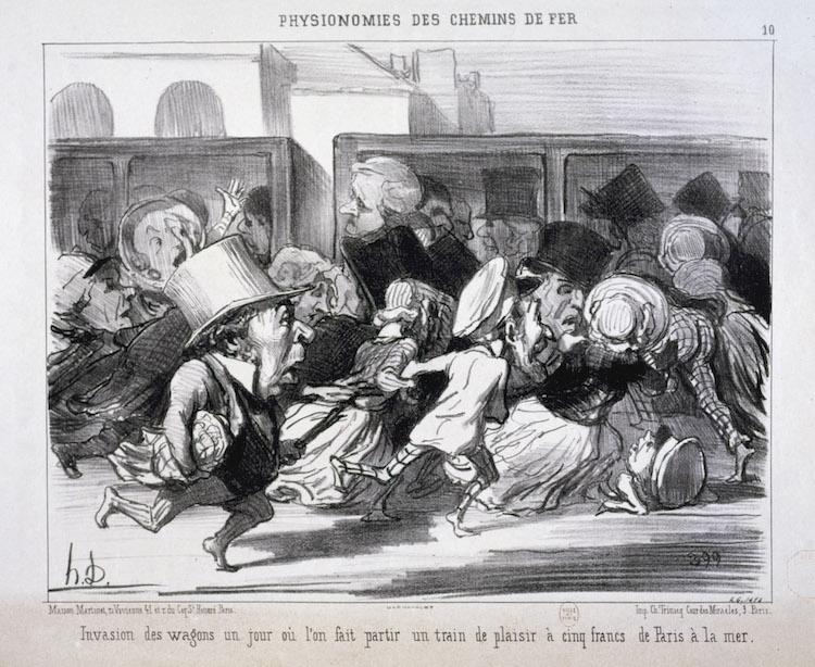 Honoré Daumier Caricature