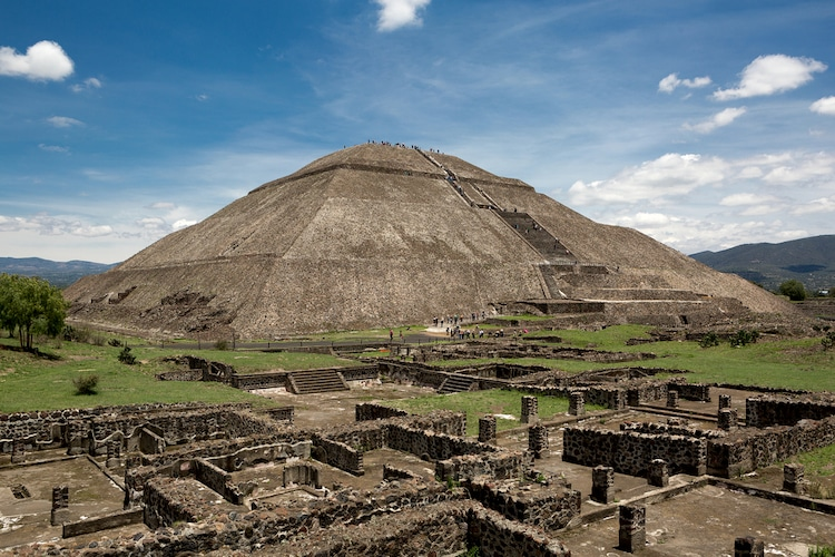 Pyramid of the Sun in Teotihuacan