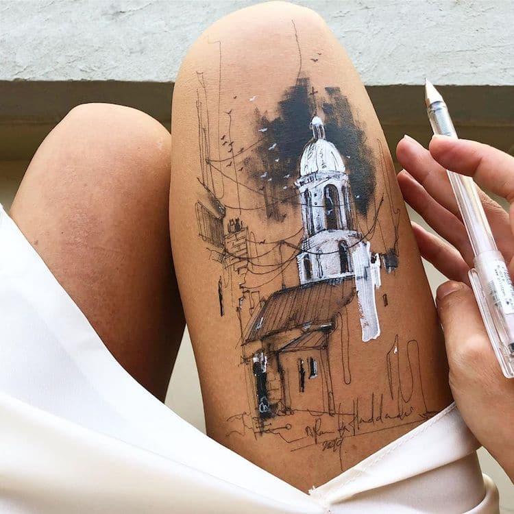 Randa Haddadin Body Art
