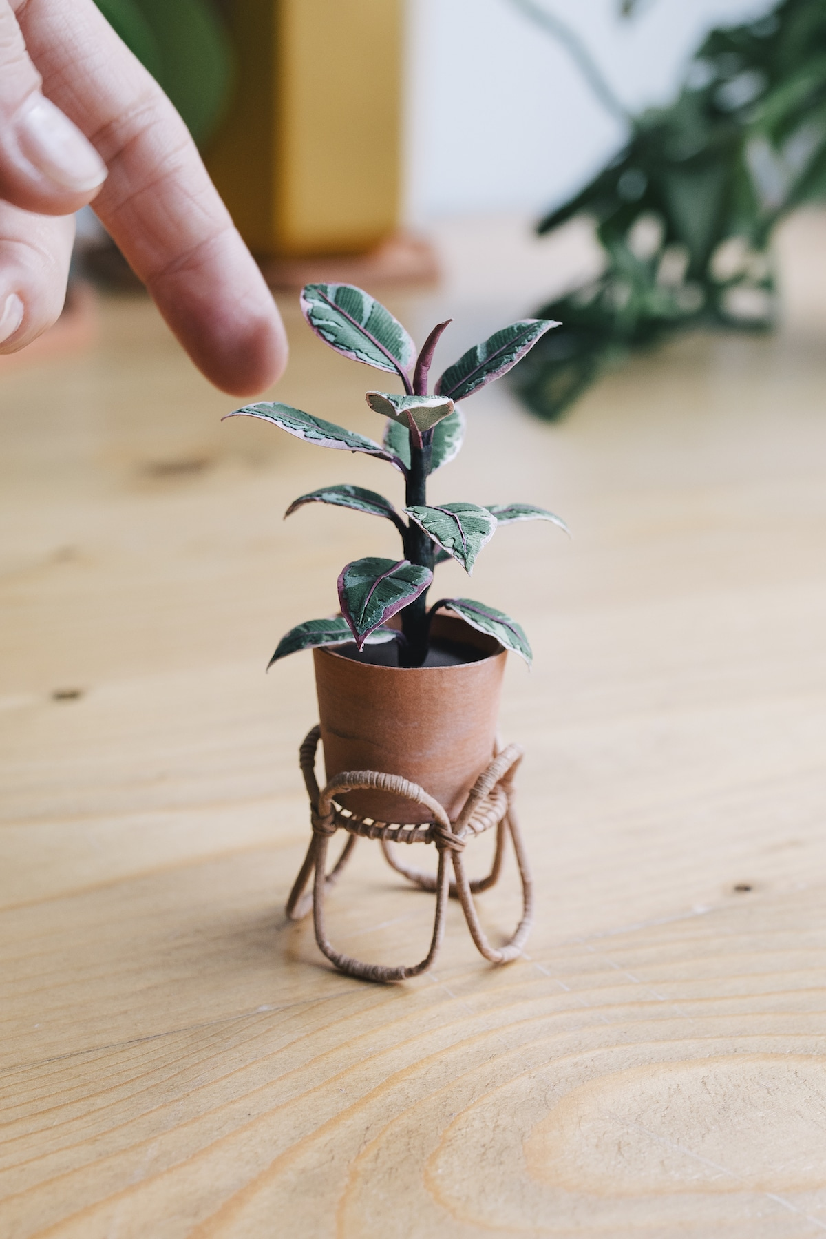 Paper Plant Sculpture