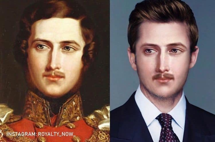 Photo manipulation of historical figures