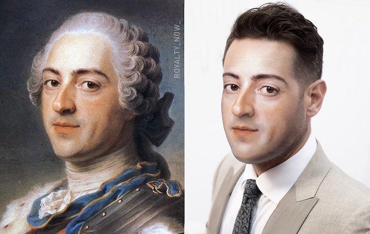 Digital photo manipulation of historical images