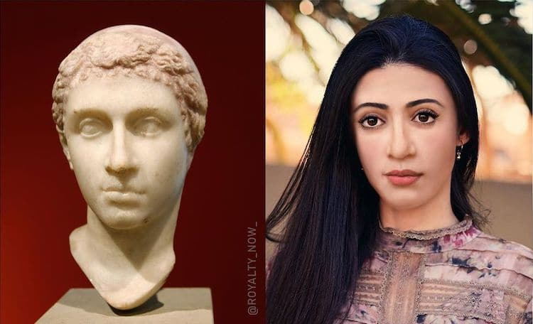 What would Cleopatra look like today?