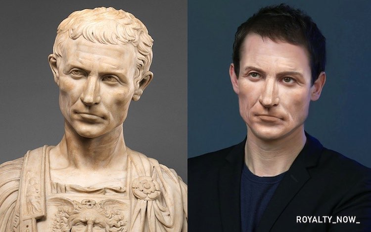 What would Julius Caesar Look Like Today?