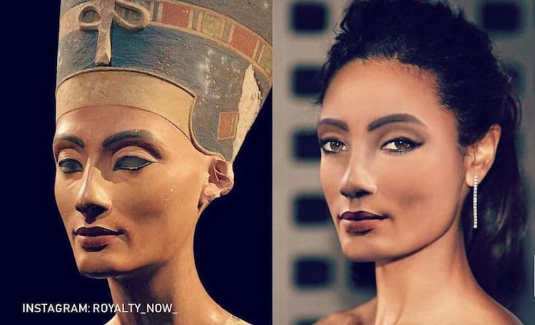 What would Nefertiti look like today?