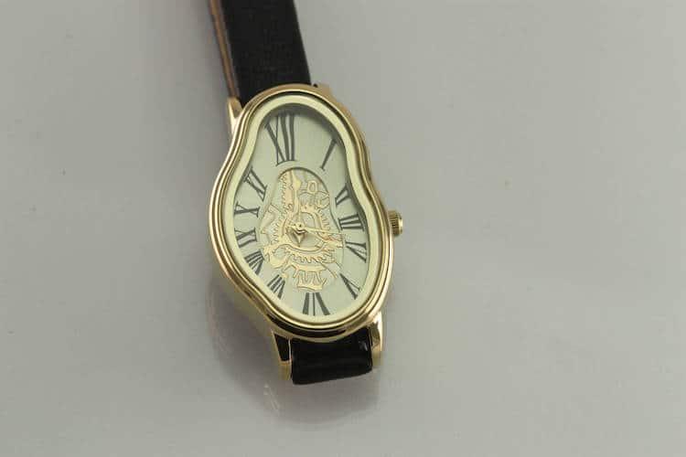 Melting Wrist Watch
