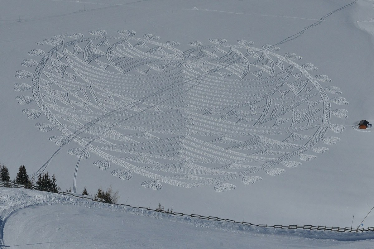 Land Art by Simon Beck