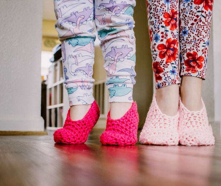 Calcetines pantuflas