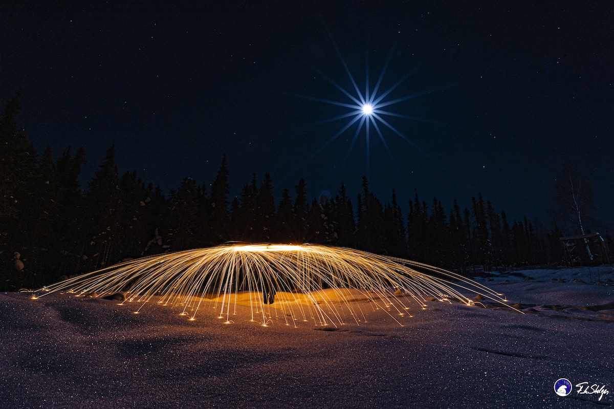 Unique Steel Wool Photography by Frank Stelges