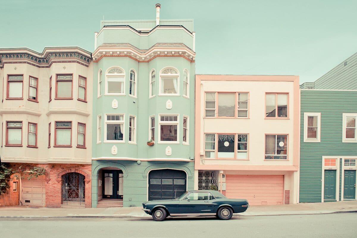 Streets of San Francisco by Helene Havard