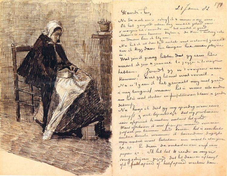 Carta de Van Gogh