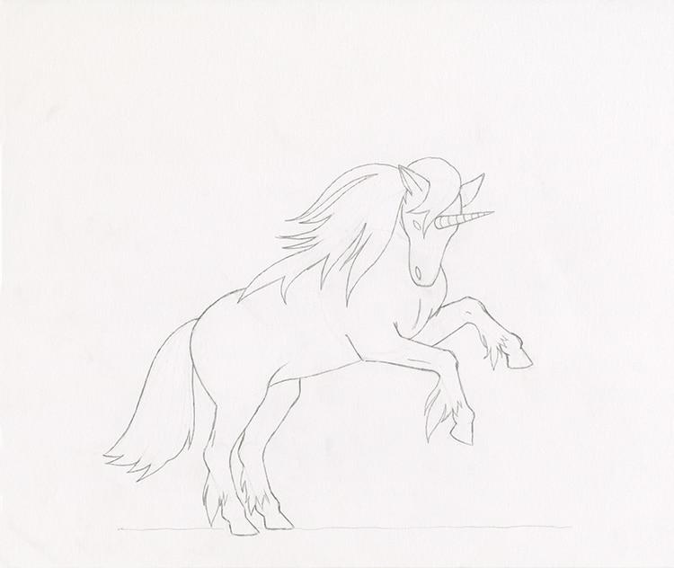 Cómo dibujar un unicornio
