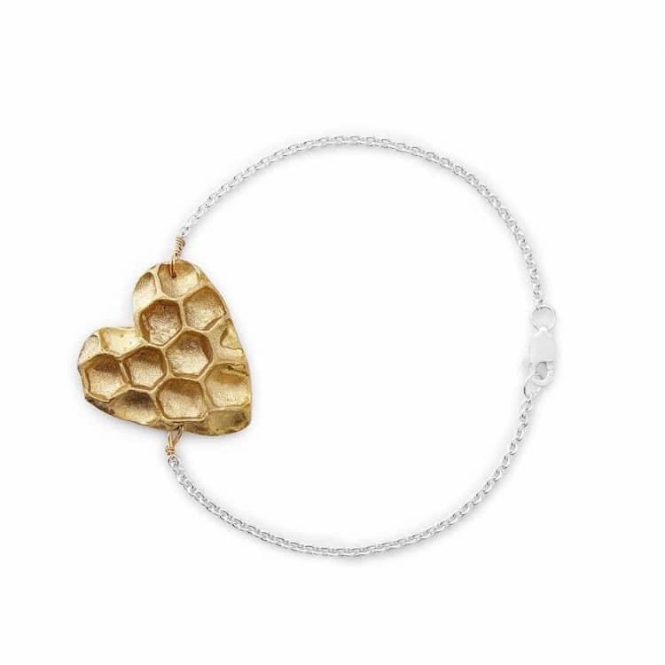 Heart Bracelet for Valentine's Day