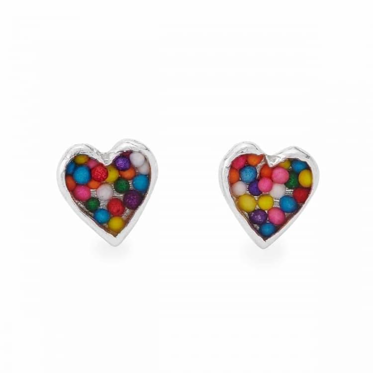 Unique Heart Earrings