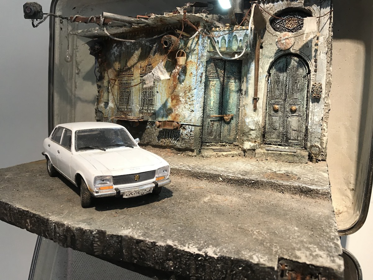 Mohamad Hafez and Ahmed Badr Art Installation About Refugees