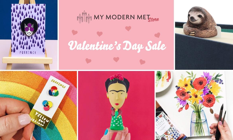 Valentine's Day Sale at My Modern Met Store