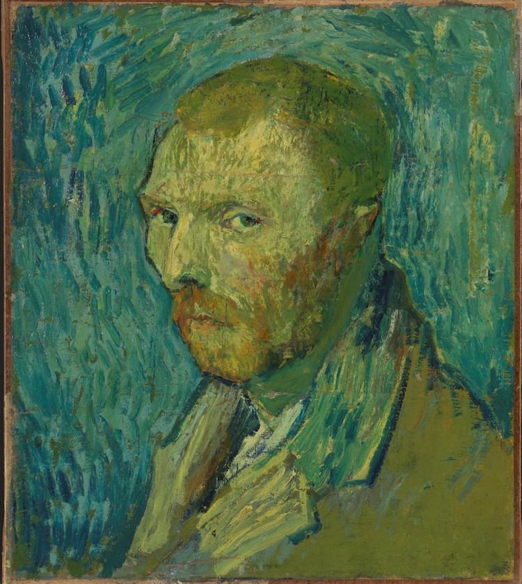 'Autorretrato (1889)' de Vincent Van Gogh