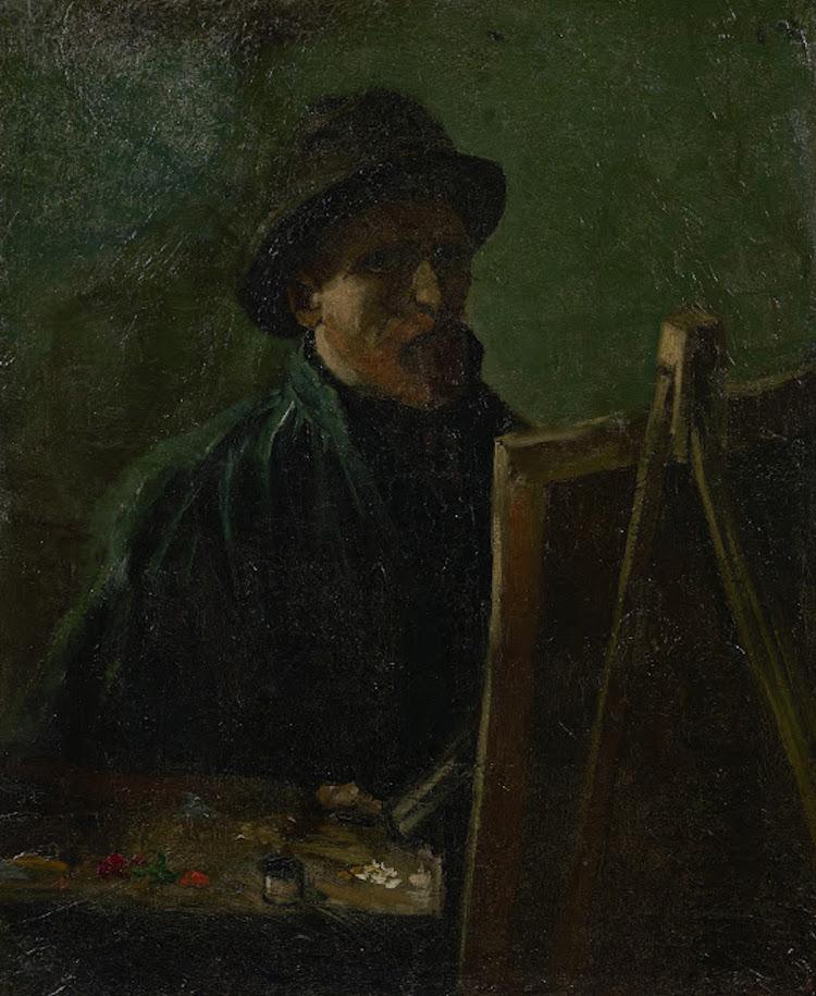 Van Gogh's First Self-Portrait