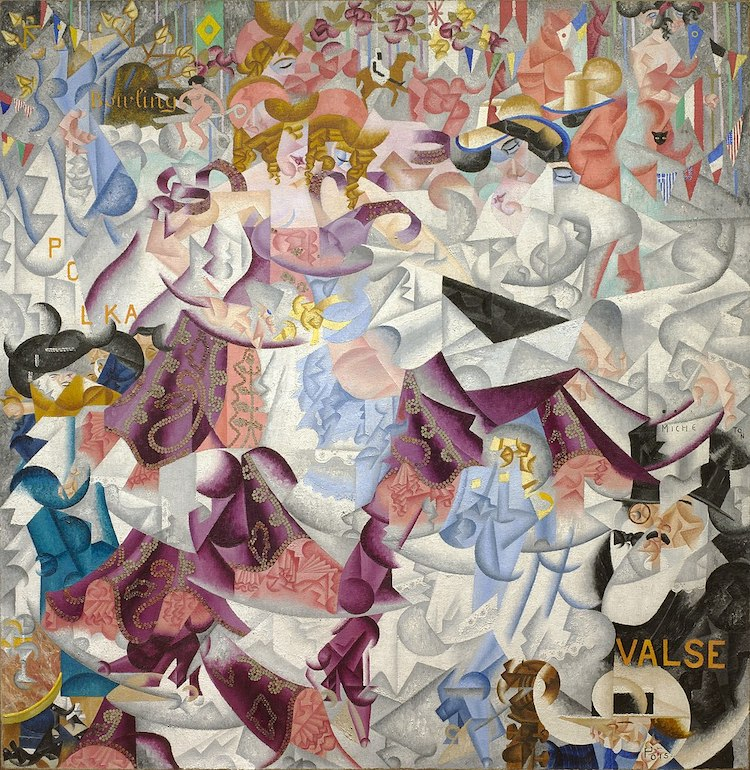 Futurist Art by Gino Severini