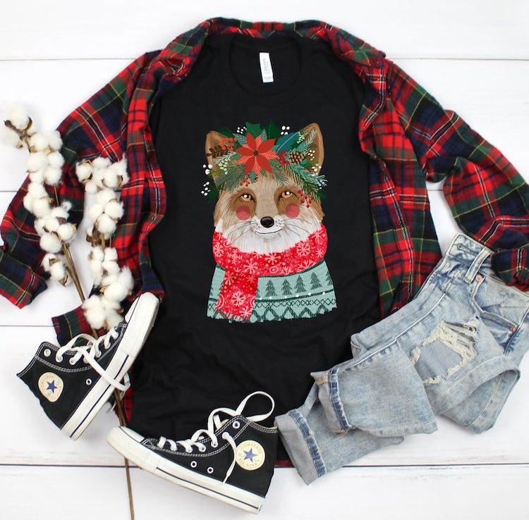 camiseta de navidad