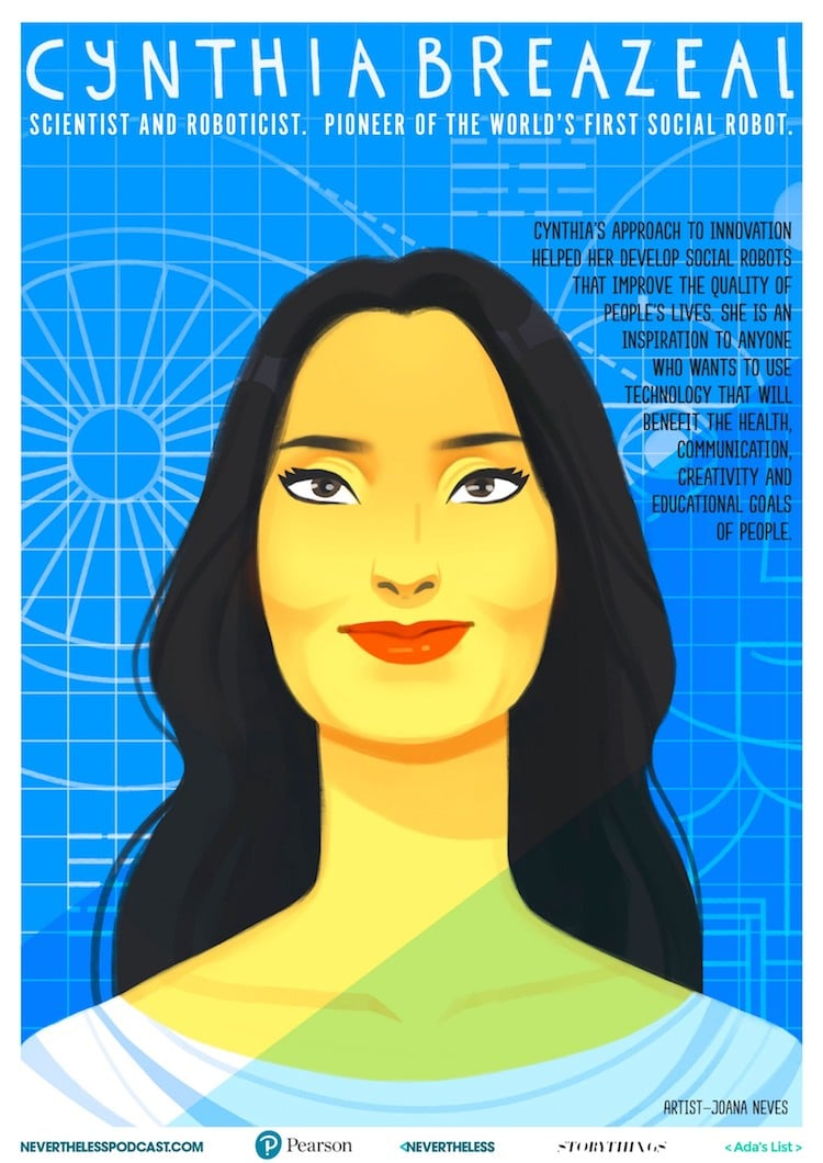 Free Posters of Women Innovators