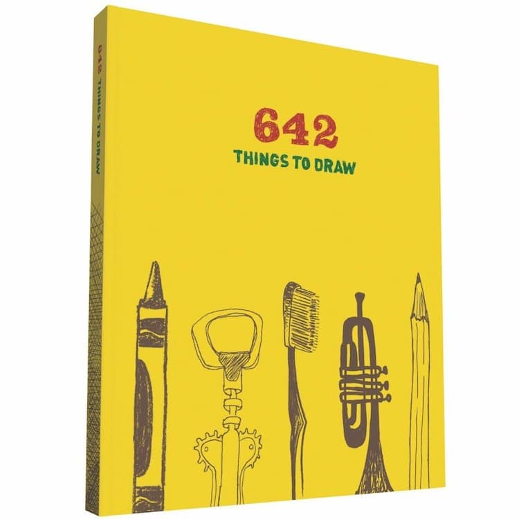 Livre 642 Things to Draw