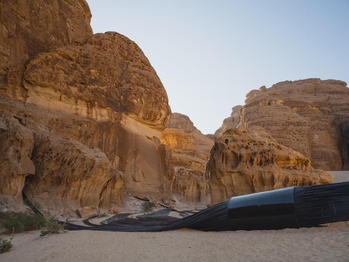 Muhannad Shono at Desert X Alula