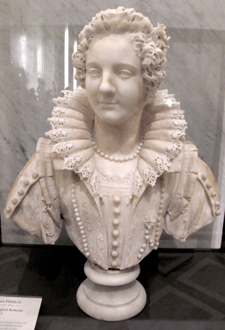 Bust of Maria Duglioli Barberini by Giuliano Finelli