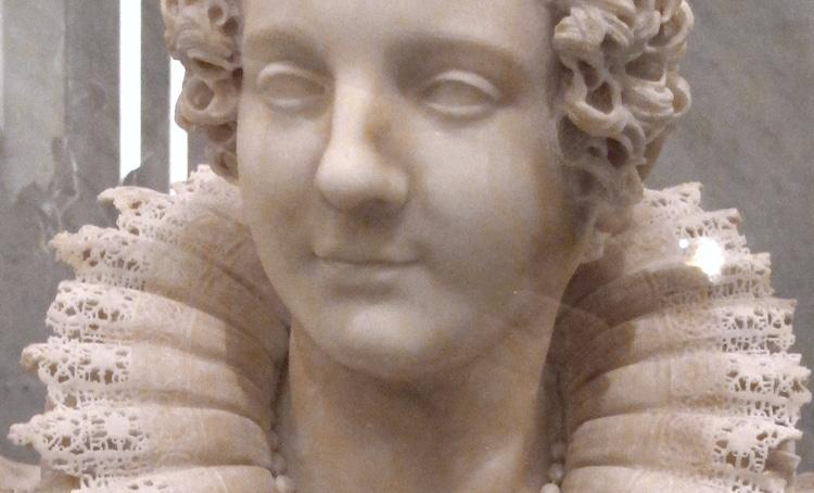 Busto de Maria Duglioli Barberini por Giuliano Finelli