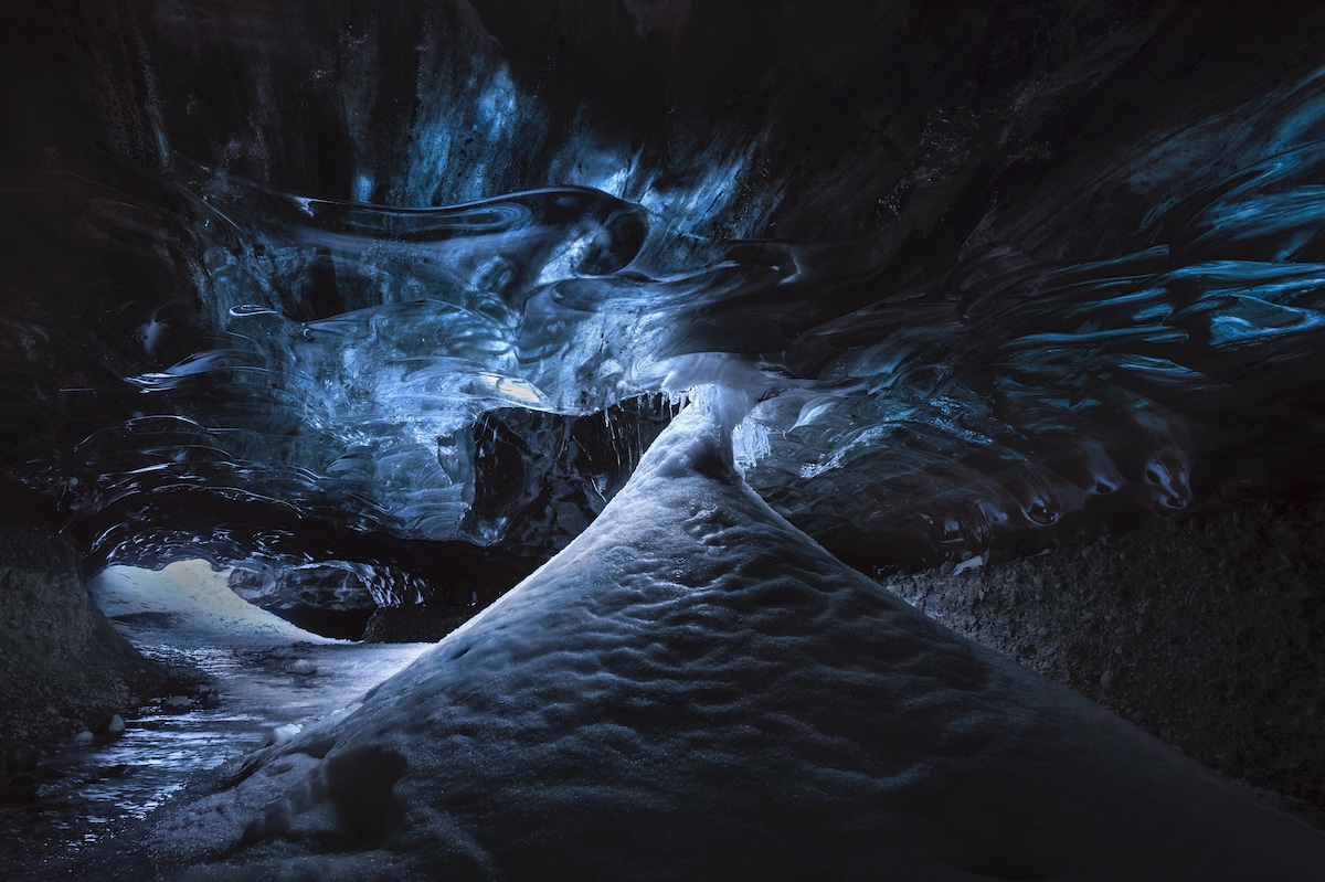 Ice Cave at Vatnajökull National Park, Iceland