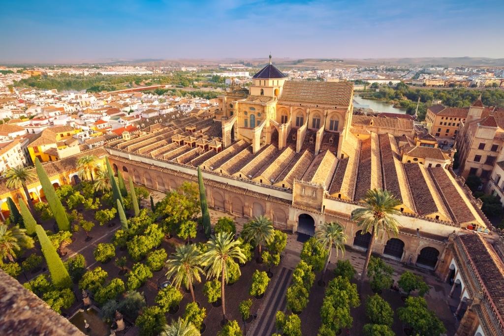 Vista aérea de la mezquita de Córdoba