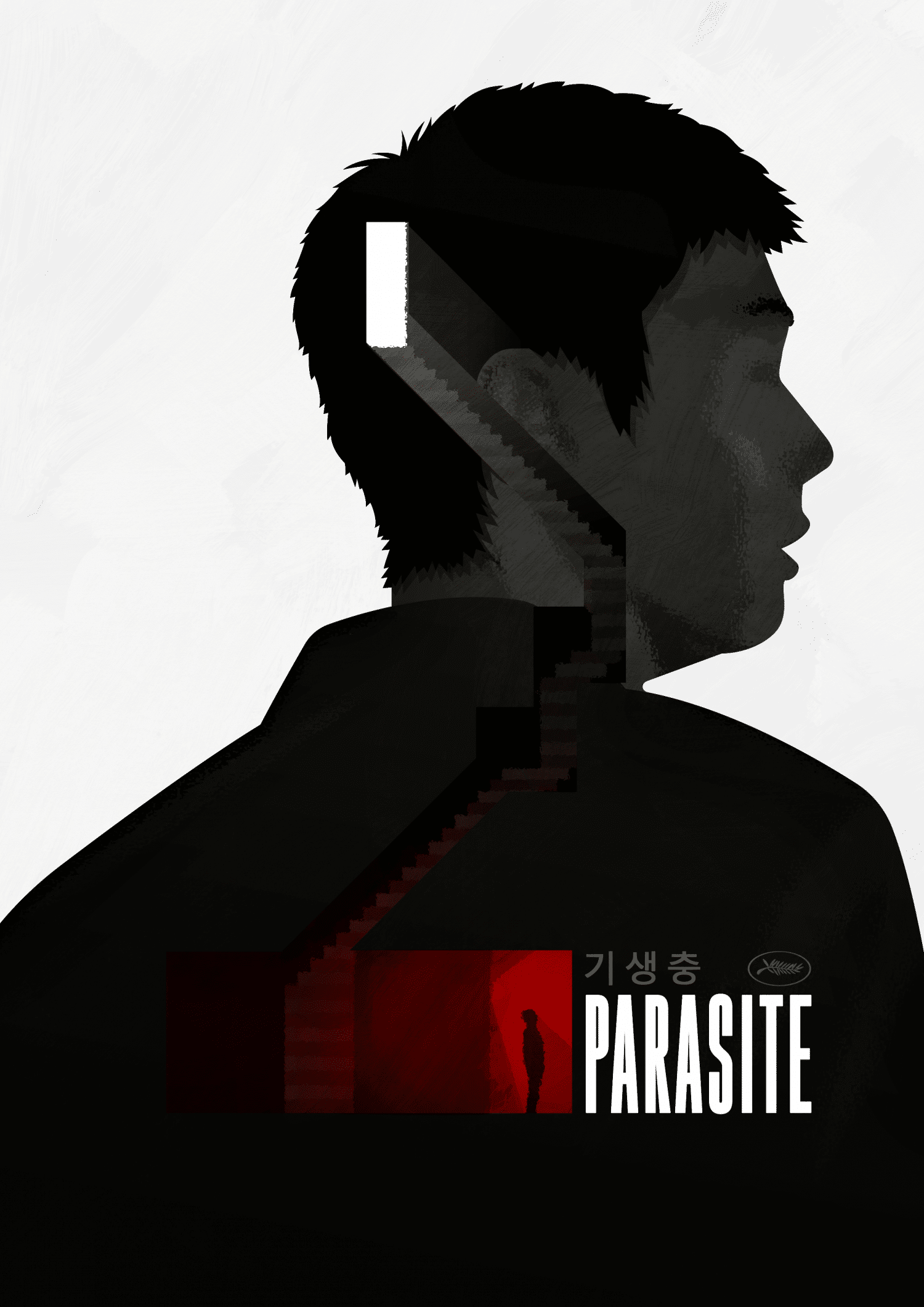 Parasite Movie Poster Tribute Art