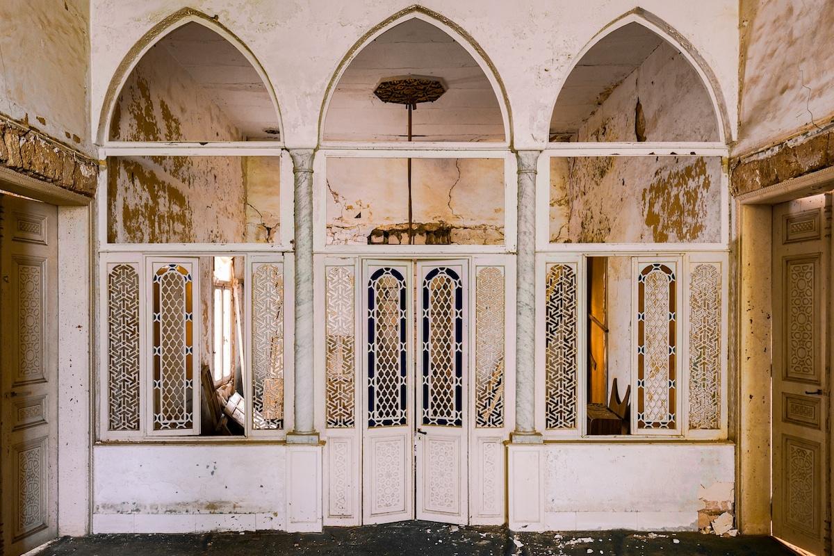 edificios abandonados en beirut