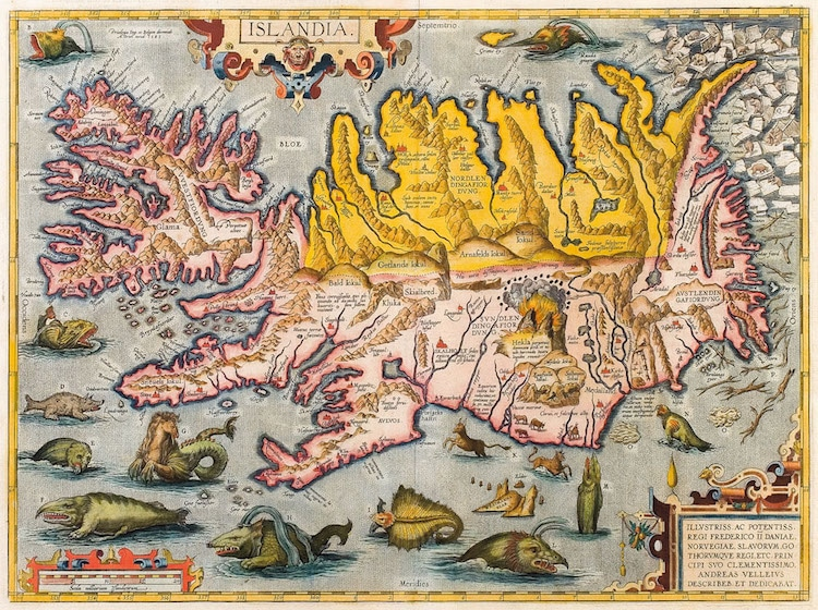 Mapa de Abraham Ortelius