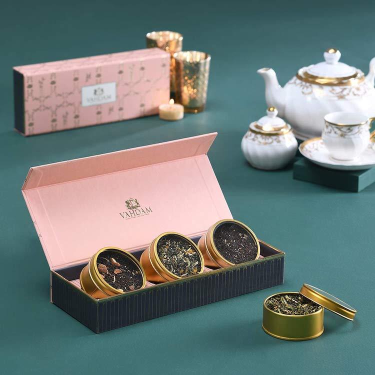 Set de tés variados