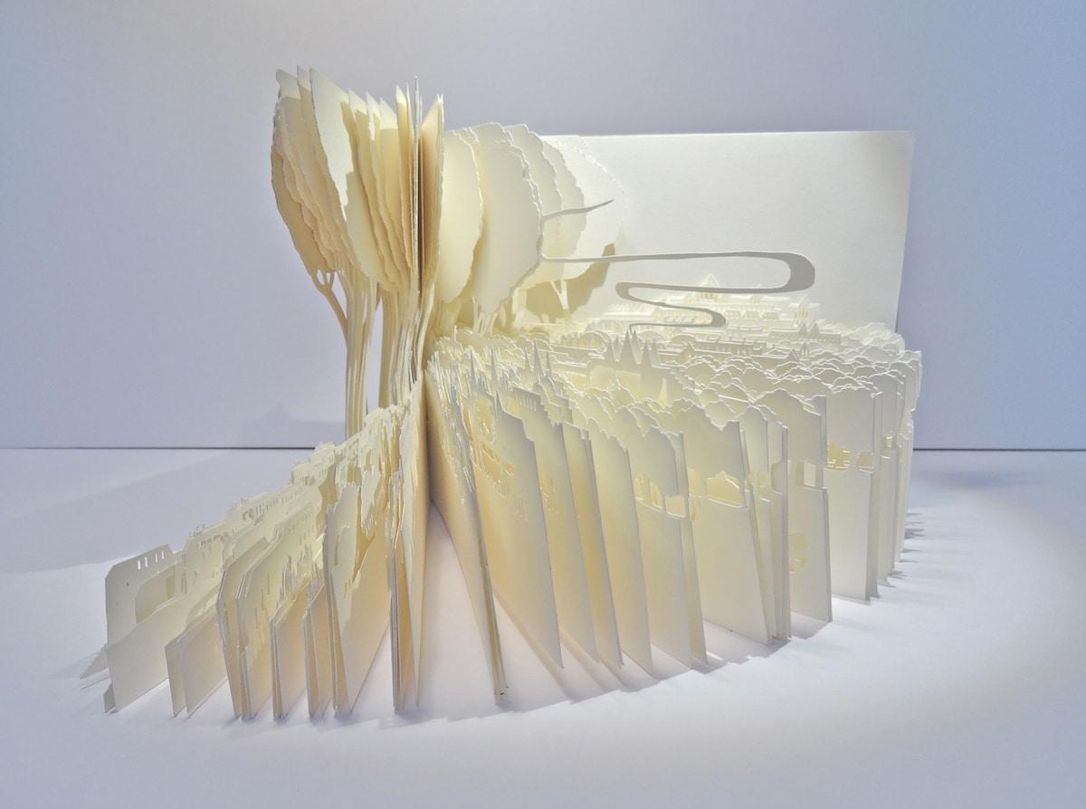 Ayumi Shibata Paper Art