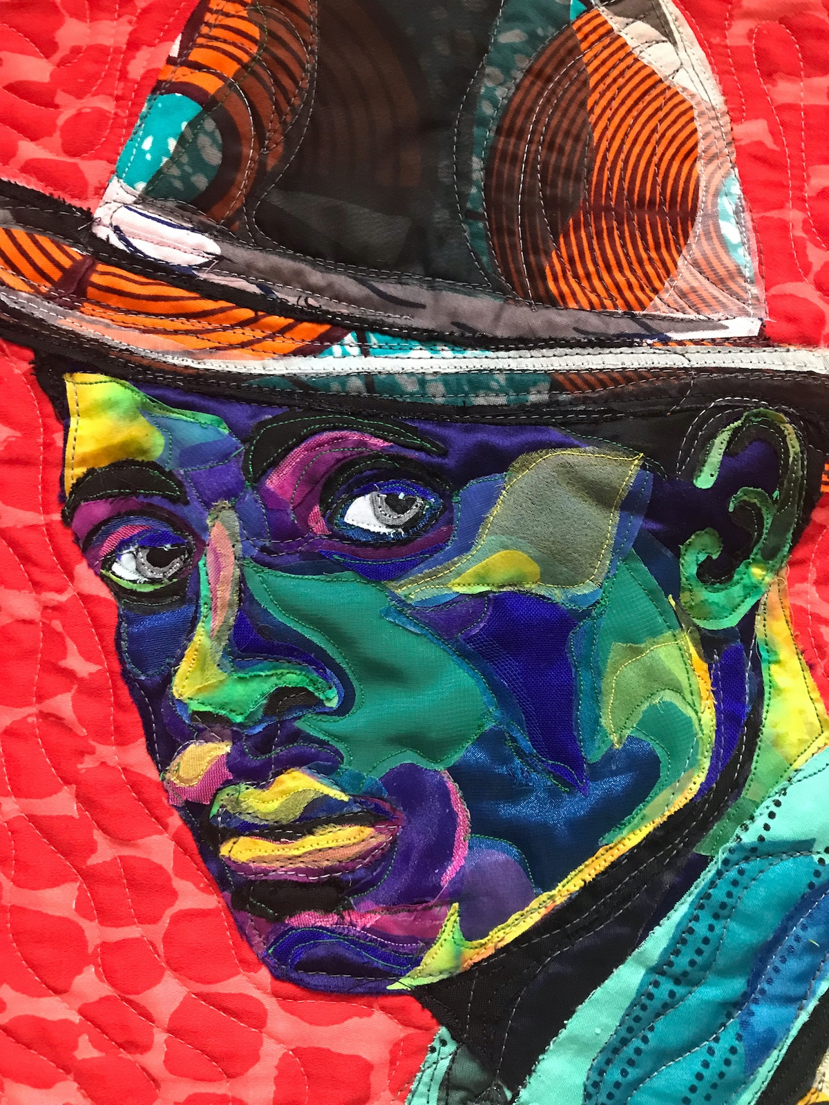 Art Quilt Portrait