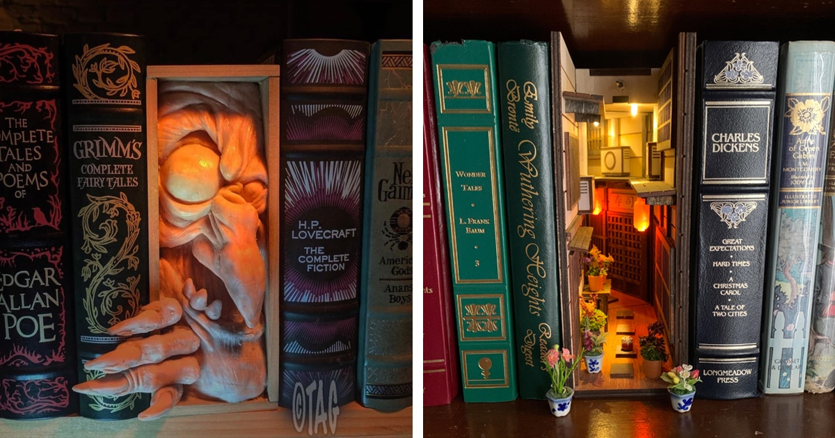 10 Book Nook Ideas That Will Bring Magic To Your Shelves