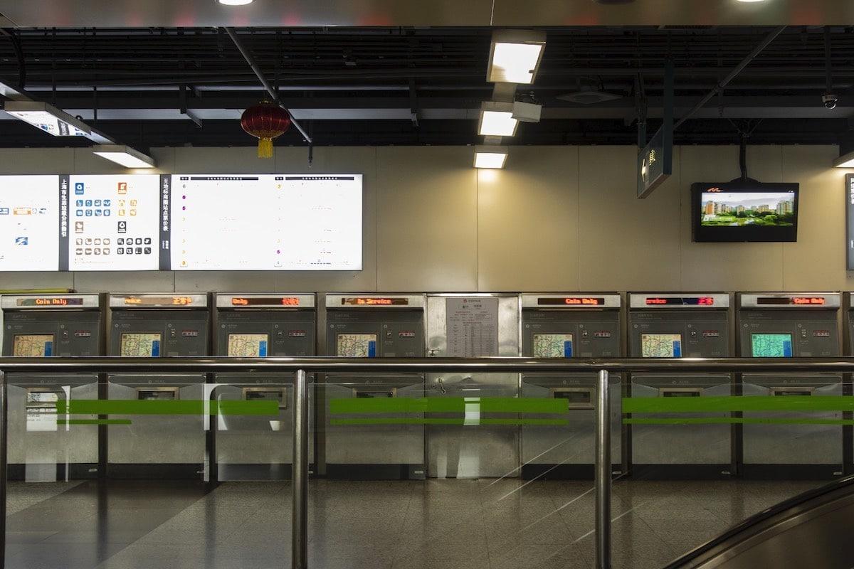 Coronavirus Metro Shanghai