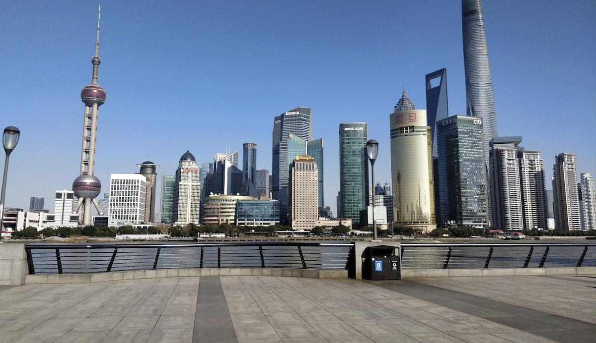 calles de Shanghai Coronavirus Outbreak