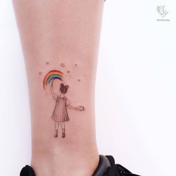 Cute Tattoos by Ayhan Karadag