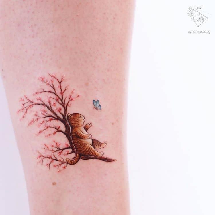 Tatuajes bonitos de Ayhan Karadag