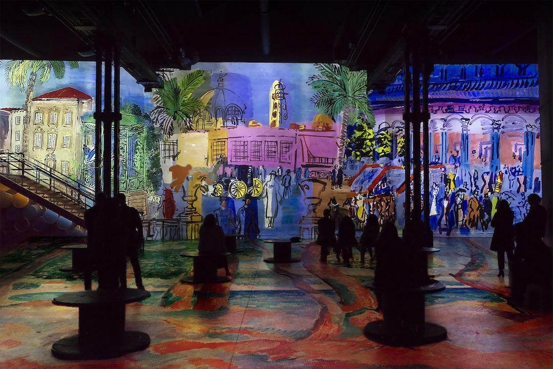 Digital Art Musueum Atelier des Lumières