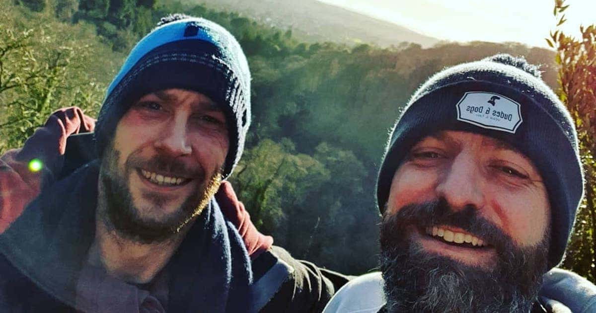 Man Sets Up Dog Walking Group to Encourage Men to Talk About Their Feelings Together