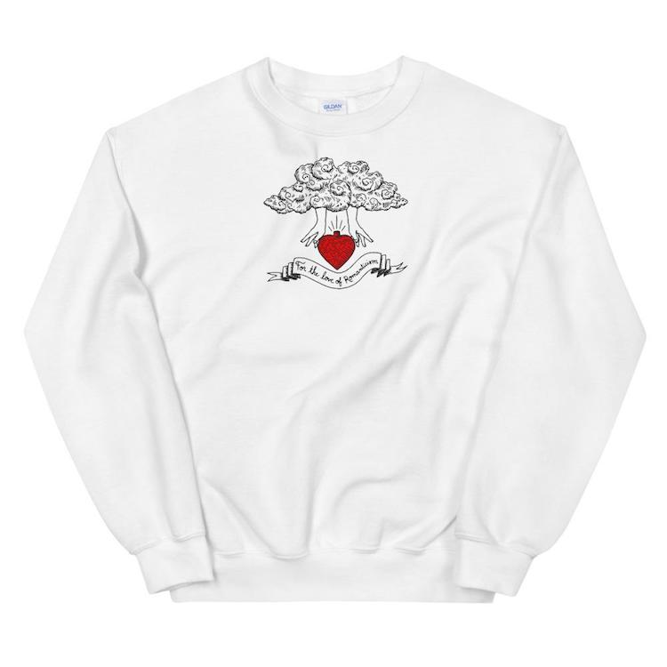For the Love of Romanticism Sweatshirt