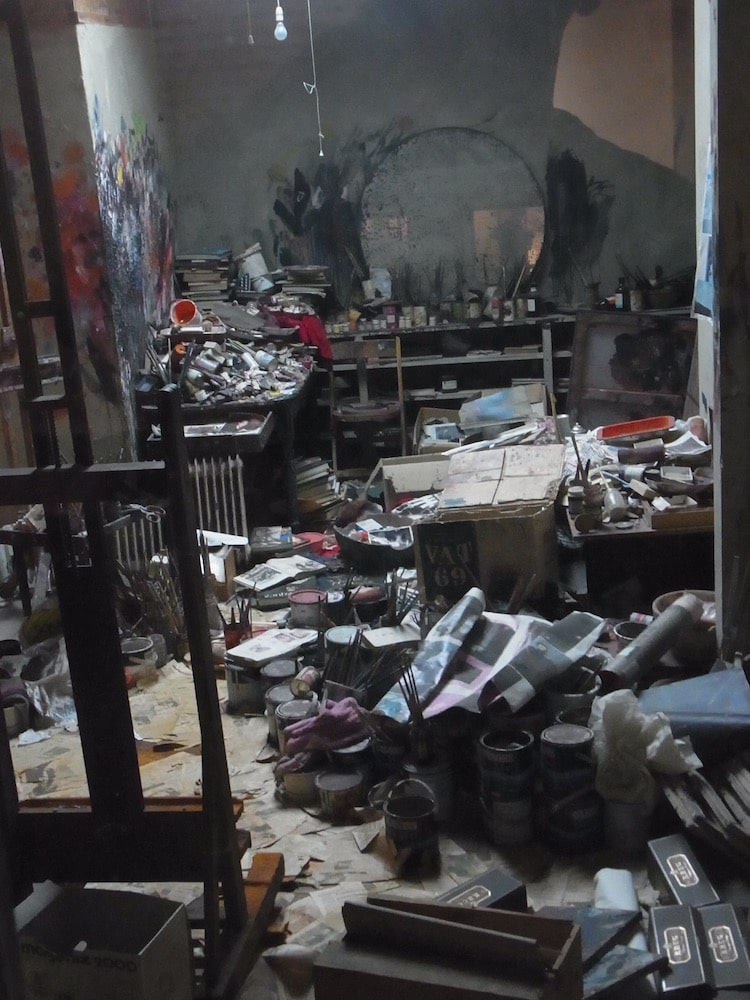Francis Bacon Artist Studio