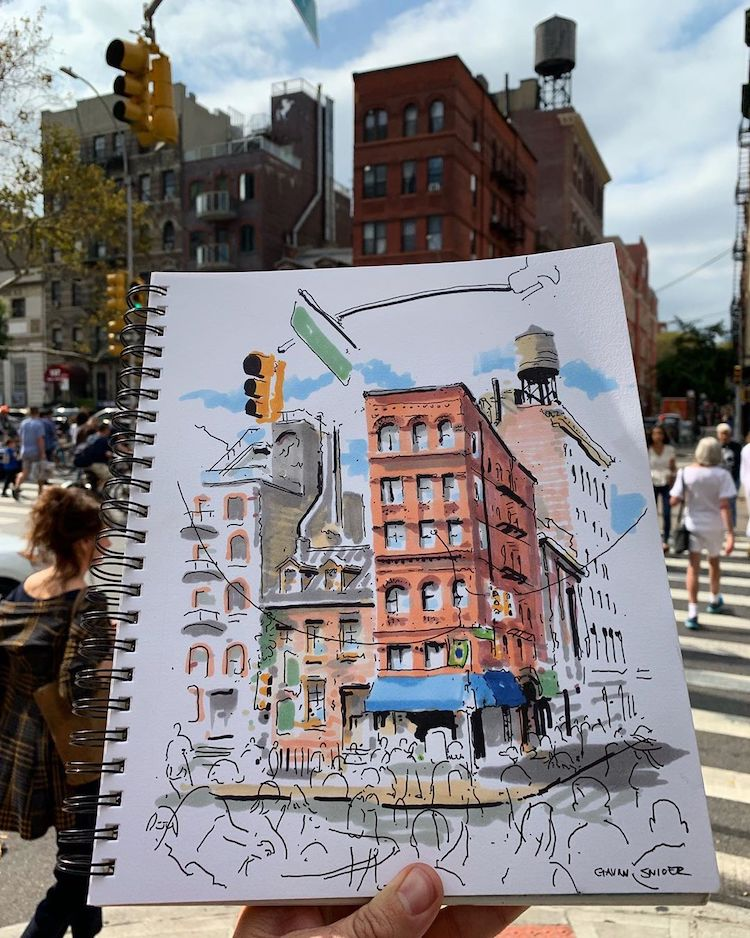New York City Urban Sketching